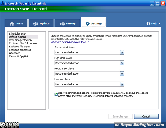 MS Security Essentials 4