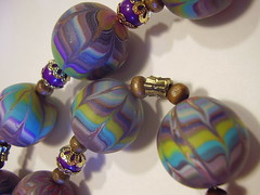 P5240001 (fimolandija) Tags: cane photo necklace beads colorful gallery modeling unique craft jewelry fimo bracelet earrings pendant millefiori hand polymer clay made