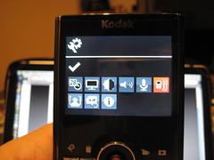 Kodak Zi8: Einstellungen