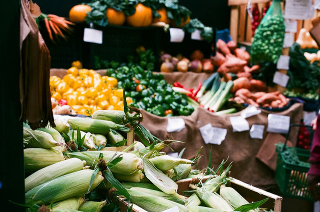 Borough Market - veg
