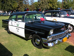 1956 Chevy Police Car (lapd5150policemotor*) Tags: california county france cars ford truck fire la coach chopper highway state bart tahoe victoria cadillac ambulance american engines policecar chp dodge crown motor dare sheriff mustang hummer plain patrol charger ssp sherriff pumper policemotorcycle bartpolice policesmartcar slicktop vintagepolicecar citypolice countysheriff unmarkedpolicecar militarypolicejeep pattywagon policeunits plymouthpolicecar riponcapolicecarpolicemotorcycleshowoctober4th2009 squadunitradiocarradiounitunitchpchips fordchevydodgemopar wrappewr undercoveruinit sspsmartcar shorepatroljeep chaqrger copcopscopperpolicemanpolicemandepuity crownpumperfireapperatuswillyjeepfordjeep policedodgeram policecamaro chevypolicecamaro chevypolicetruck unmarkedpoliceunit