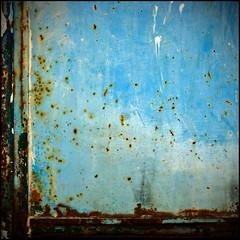 (Katerina.) Tags: blue abstract texture rust urbandecay 500x500 haphazart haphazartblue haphazartrust haphazartlikeapainting ministract