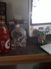 Crystal Head and Gatorade