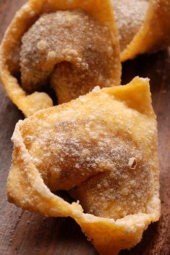 Sweet Azuki Bean Paste Wontons