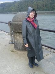 Koblenz (polymorph_2002) Tags: rubber rhein gummistiefel mosel mackintosh klepper regenmantel kleppermantel