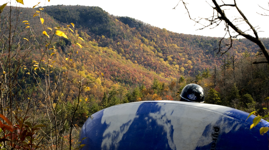 Linville Gorge in Fall