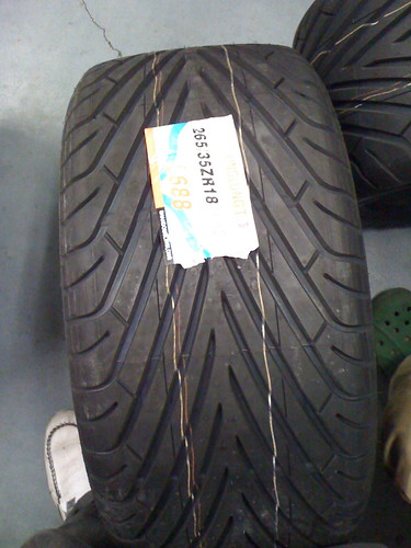 Alexi played a fierce battle of RPS to land this set of tires!