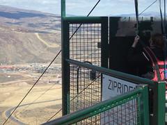 The zipline