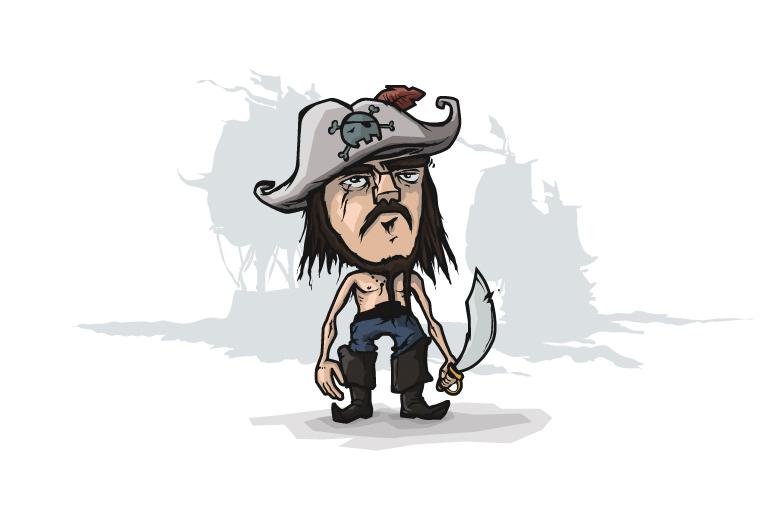 pirat vekor