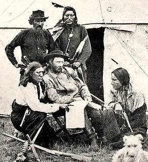 Custer Scouts 1874