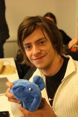 Bernhard won an elephpant