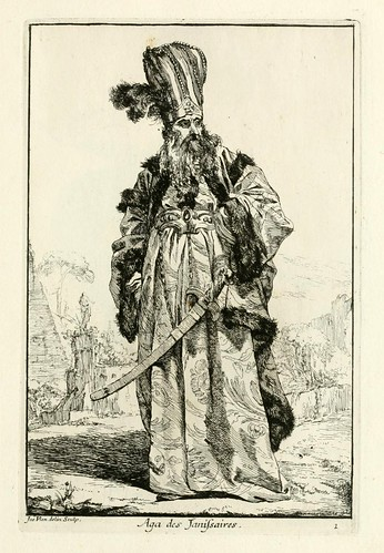 002-Aga de los Jenizaros-Caravanne du sultan ala Mecque…1748- Joseph Vien