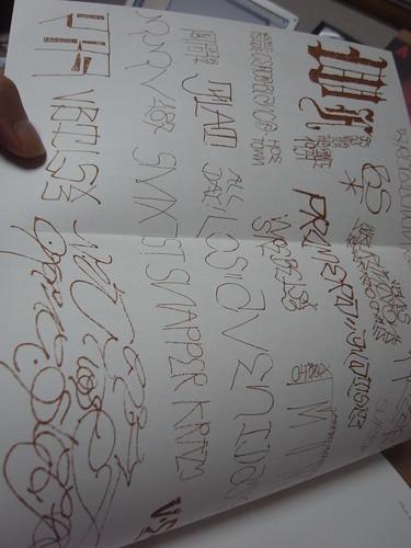 Chaz Bokorquez Cholo Writing Latino Gang Graffiti In Los Angeles A Photo On Flickriver
