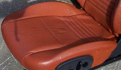 99PorscheCoupe10 (truckandcarseats) Tags: red leather 1999 porsche boxster coupe fronts