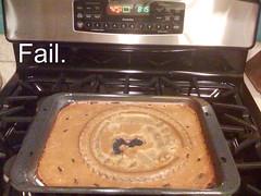Pumpkin pie fail.
