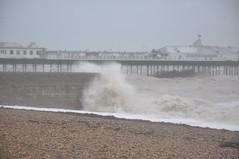 DSC_0078 (Peter-Williams) Tags: november sea water pier seaside brighton waves shingle gales seafront swell groyne 2009 breakwater beaking