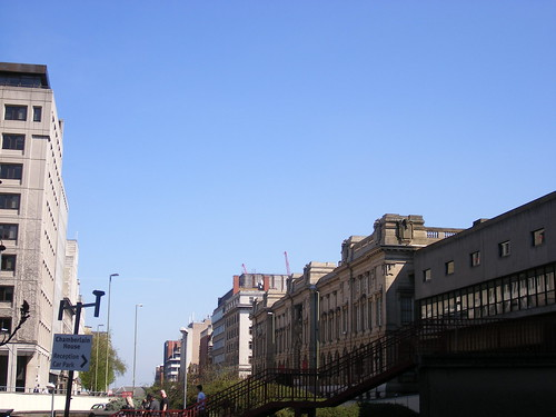 Great Charles Street Queensway and the back of the Birmingham Museum and Art Gallery