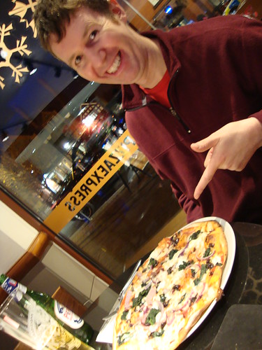 Pete and his pizza