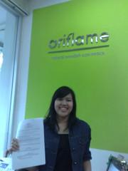 kerjasama dengan oriflame indonesia