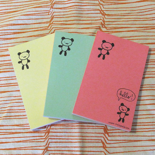 Hello Pandas Mini Notepad