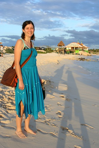 Heidi at Playa Bonita