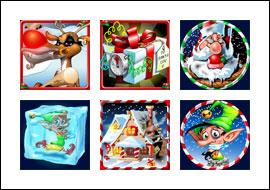 free Rudolph's Revenge slot game symbols