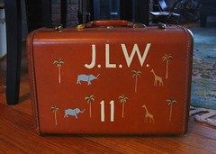Knock Off! (.Kara.) Tags: leather carved luggage wesanderson marcjacobs darjeelinglimited karaginther