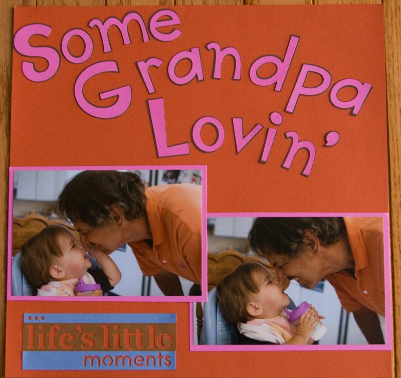 grandpa lovin'