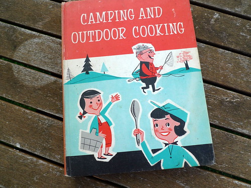 camping and outdoor cooking 1958
