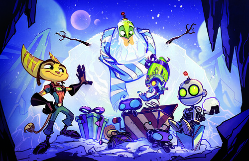 2009 Insomniac Games Holiday Card