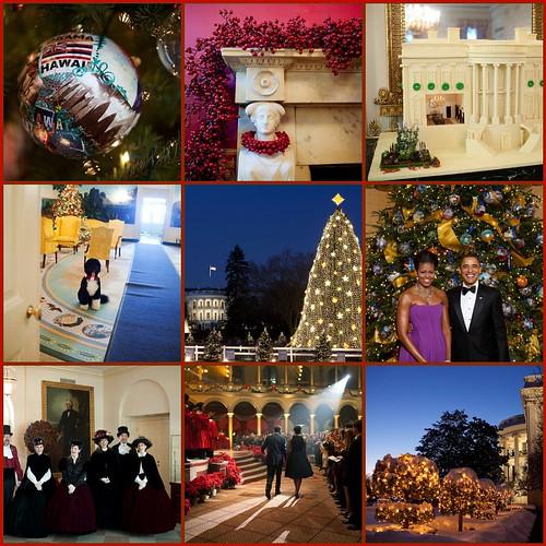 day 19 ~ the white house celebrates christmas too...