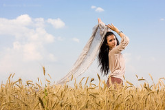 Attractive girl standing in wheat field (Alex Rozhenyuk) Tags: autumn summer portrait woman color girl beautiful beauty childhood smiling fashion yellow female rural vintage outdoors happy freedom golden model wheat joy young tan lifestyle style teen journey teenager hippie recreation resting brunette relaxation sensuality gypsy pinup carefree enjoyment oneperson 20s tempting caucasian harvesting adolescence femininity youthculture teenagegirls casualclothing brunet 2025years onewomanonly 1960sstyle brownhaired oneyoungwomanonly femalebeauty onlywomen
