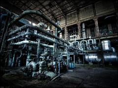 P3156345_7_8_9 (X-it) Tags: abandoned belgium belgique tubes belgi urbanexploration powerplant derelict hdr urbanexploring ue urbex