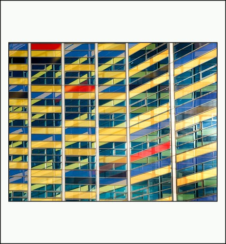 Achmea gebouw Leiden (geïnspireerd door de Stijl)