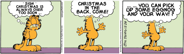 Garfield: Lost in Translation, December 28, 2009