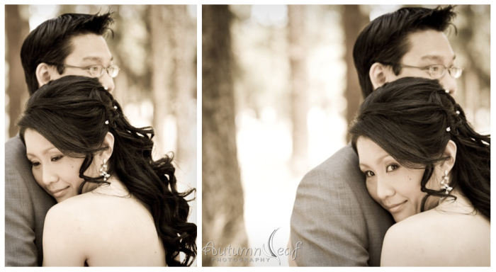 Clare & Nic's Wedding - Forest (by Autumnleaf Photography)