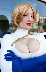Power Girl (BelleChere) Tags: costume comic cosplay superhero dccomics bellechere powergirl