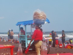 Hojuelas on her mind (rworange) Tags: guatemala frieddough guatemalanfood hojuelas