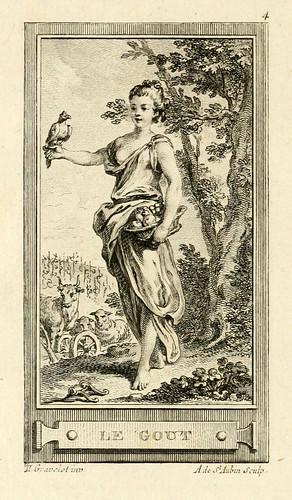 019- El gusto-Iconologie par figures-Gravelot 1791
