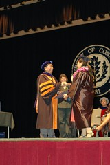 Getting My Diploma (GirlOnAMission) Tags: amber graduation ceremony may 2009