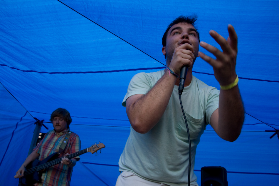 Future Islands at Whartscape 2009