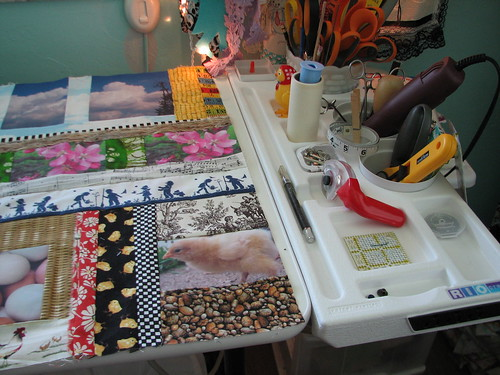 new cutting table from Jo Ann's