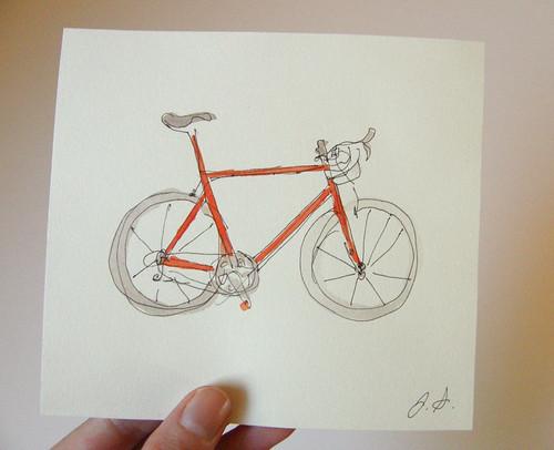 Mon biciclete by you.