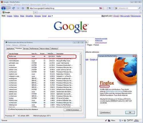 Firefox 35 Memory Leak