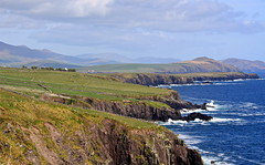 Dingle Peninsula Coastline (Paul Rudderow- Jersey Shooter) Tags: blue ireland seascape mountains clouds day sheep cloudy coastline farms dinglepeninsula thechallengegame challengegamewinner rudderow friendlychallenges