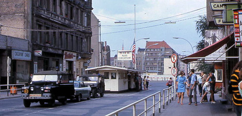 Berlin '70 Checkpoint Charlie