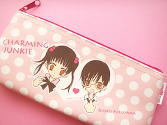 Kawaii Charming Junkie Pink Pen Case Furoku Cute Stationery (Kawaii Japan) Tags: pink girls white anime cute art smile japan illustration magazine asian happy japanese promo artist heart manga case collection plastic polkadots novelty pouch kawaii zipper illustrator creator stationery collectibles pencilcase stationary novelties pencase hanayume hanatoyume shojo shoujo japanesemanga cawaii furoku japaneseanime shojomanga kawaiishopping kawaiijapan penpouch zippercase kawaiishop charmingjunkie ryokofukuyama kawaiishopjapan