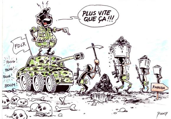 Les FDLR et le pillage de la république démocratique du Congo
