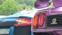 Lamborghini Diablo SE30 and Murcielago (CleurenG) Tags: cars car italian belgium automotive diablo circuit spa lamborghini 2009 automobiles murcielago francorchamps se30 spaitalia ardennnen