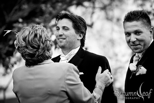 Mandi and Pierre - The anxious groom